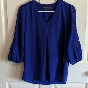 2/$30 Blue brixon ivy blouse